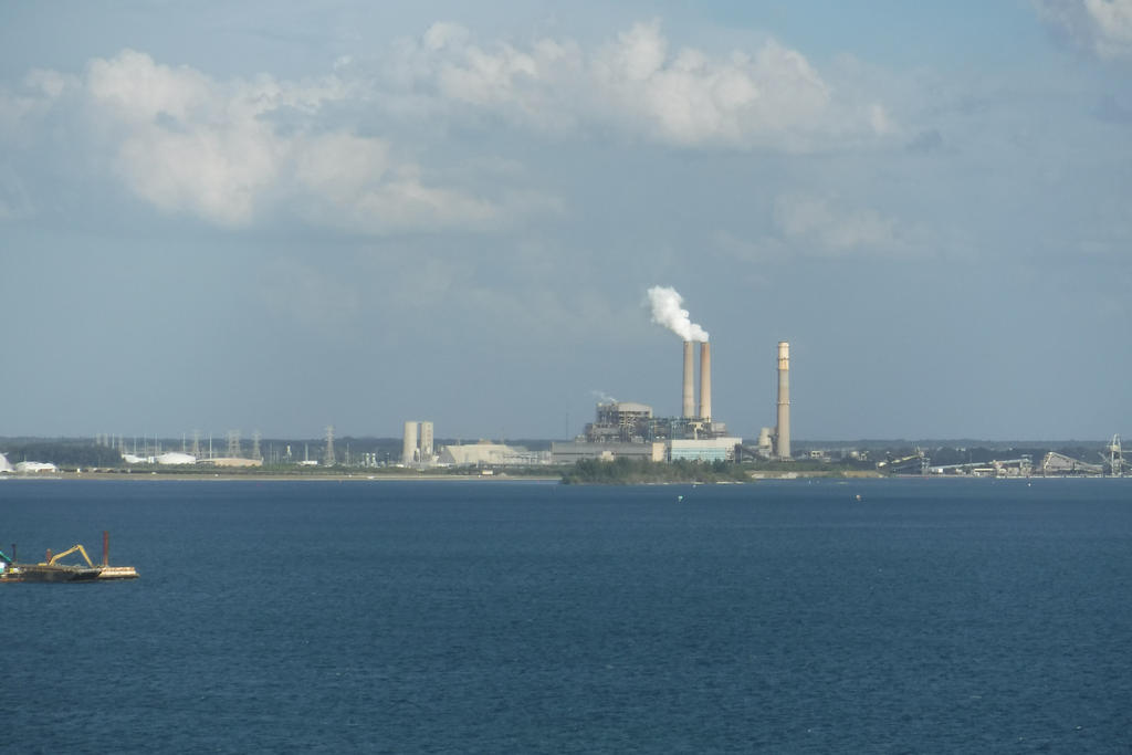 Sailing Out Of Tampa Florida On A Cruise Ship5 By