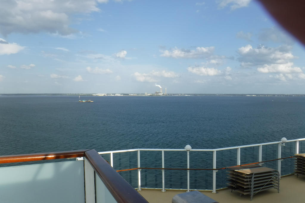 Sailing Out Of Tampa Florida On A Cruise Ship8 By