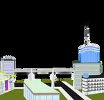 A bigger city vector2