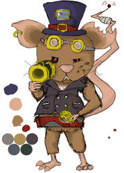 Mouse Steampunk Concept by YagmanX