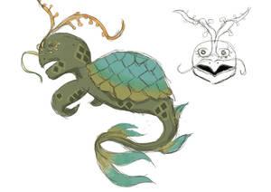 Underwater Creature Concept