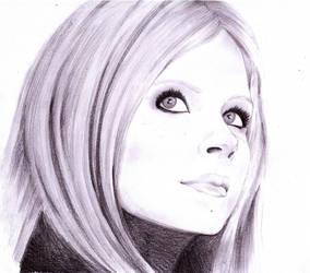 Avril Lavigne by ToxicityDragon