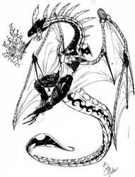 Mecha Dragon by ToxicityDragon
