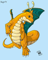 My Dragonite by ToxicityDragon