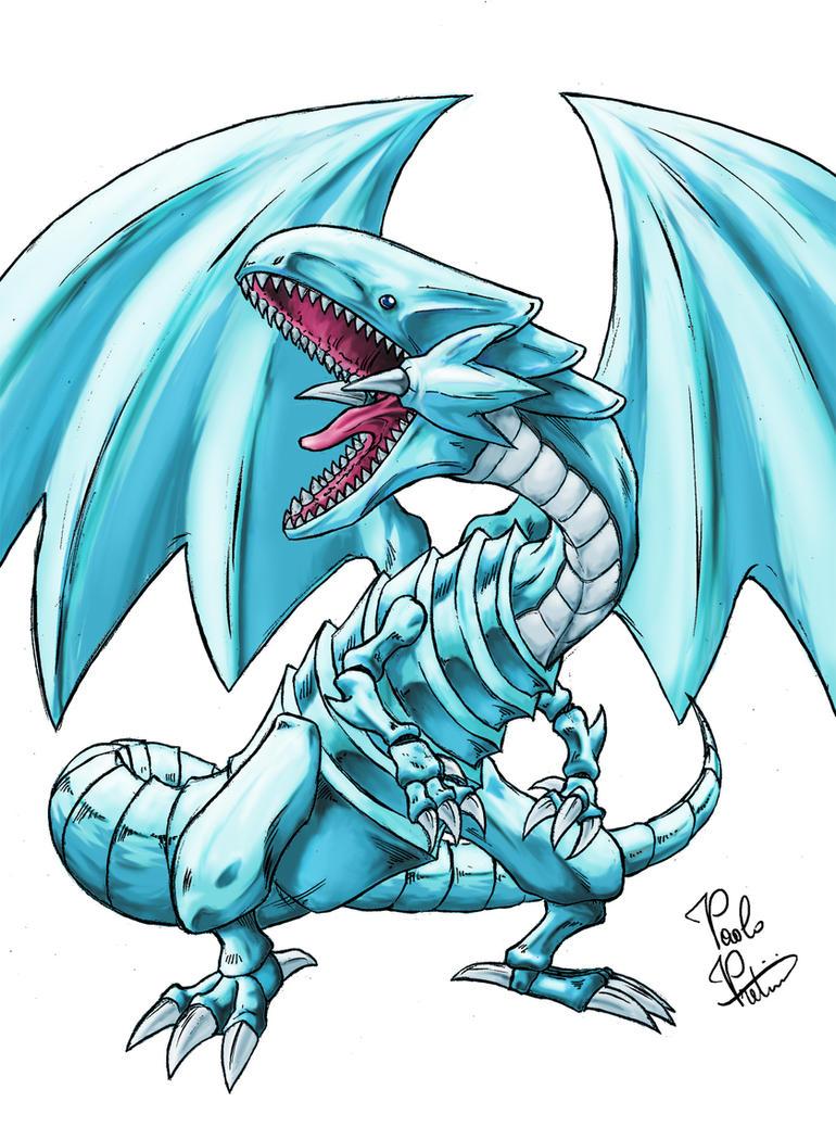 Blue Eyes White Dragon (Yu-Gi-Oh) by ToxicityDragon on ...