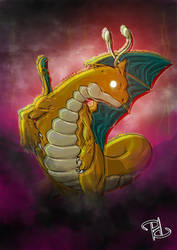 Dragonite: Outrage by ToxicityDragon