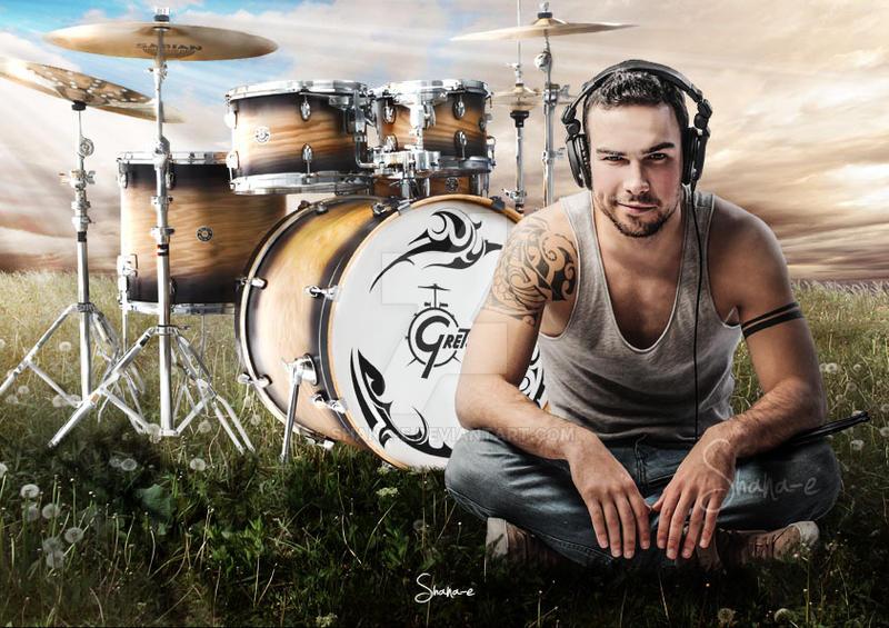 I'm a drummer by Shana-e