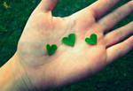 Three Hearts by abbyL13