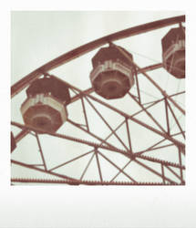 Ferris Wheel Polaroid by Tuesdaysangel