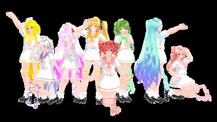 [MMD Vocaloid] TDA Sailor Uniform + DL!! UPDATE ! by MeiraMiiChan