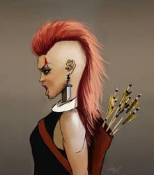 Faux Hawk viking by Lucaadel