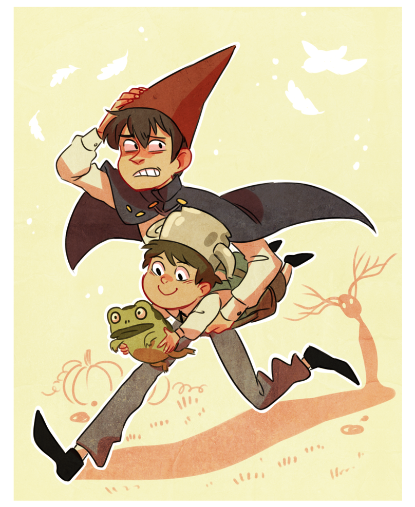 what\'s over the garden wall ??/?/ by mustachossom on DeviantArt