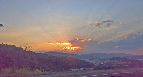 sunset by fscoto