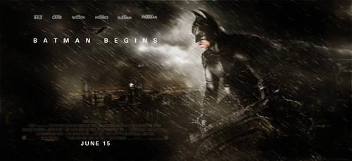 Batman Begins Movie Poster by altobello02