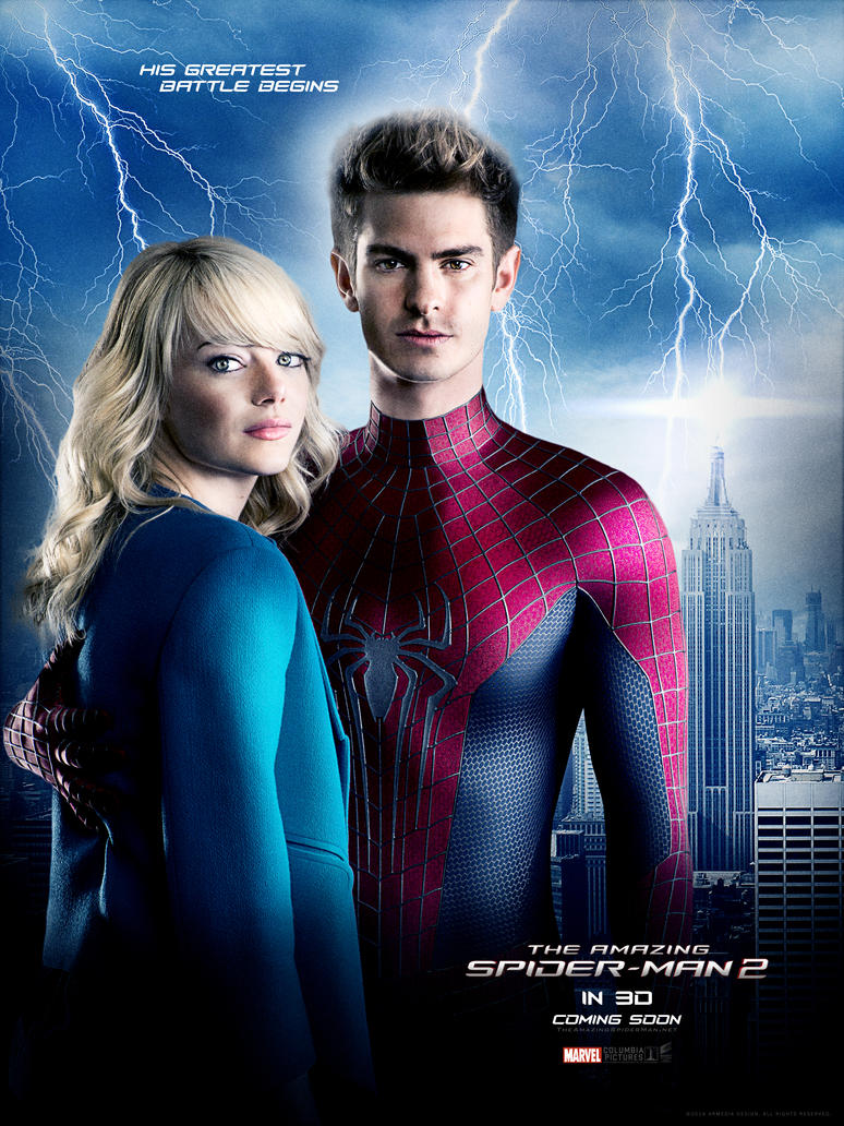 The Amazing Spider Man 2 Movie Poster by altobello02 on ...