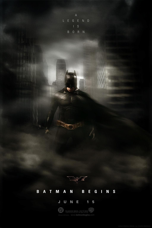 batman begins movie poster by altobello02 on deviantart