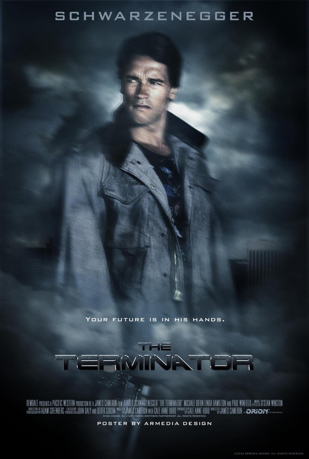 The Terminator Movie Poster 000 by altobello02 on DeviantArt