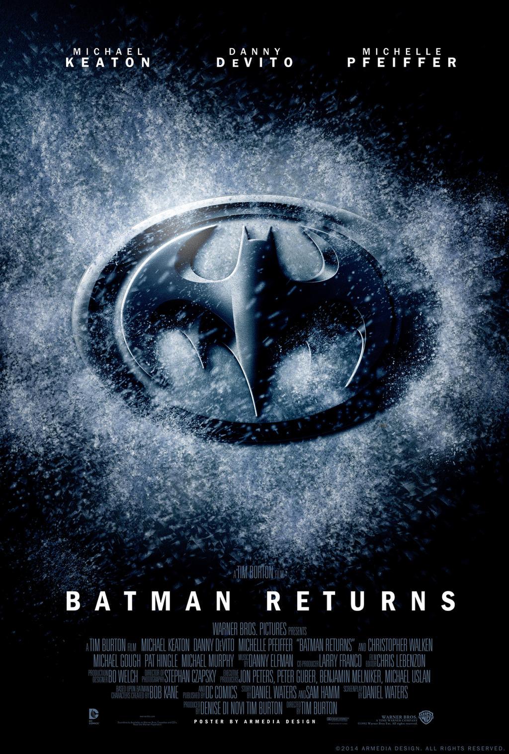 Batman returns movie poster