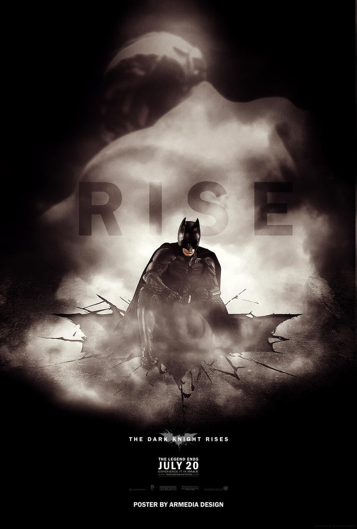 The Dark Knight Rises Movie Poster by altobello02