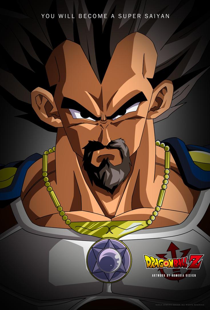 Dragon Ball Z King Vegeta by altobello02
