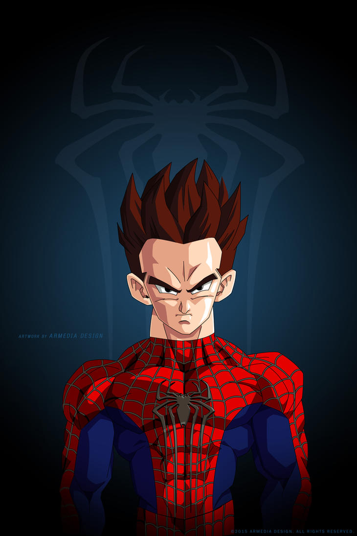 Dragon ball Z - The Avengers Project - Spider-man by altobello02