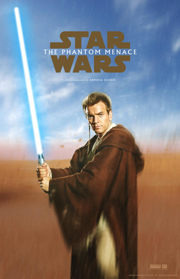 Star Wars - Episode I - Poster teaser 2 by altobello02