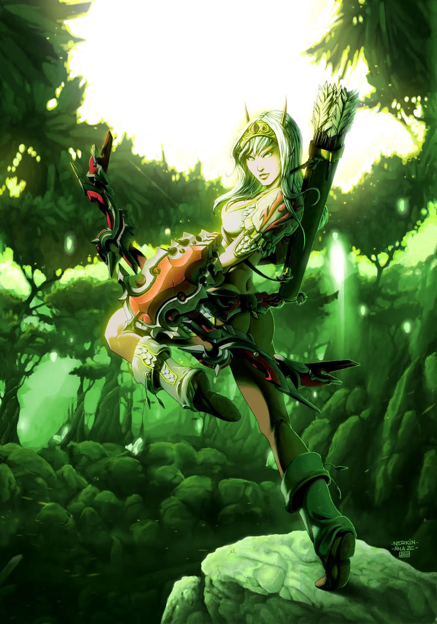 Blood elf greeting softcore tube