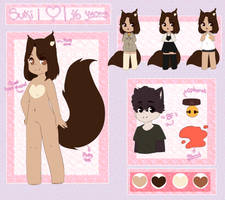 Suki Reference // Fursona by Poofiie