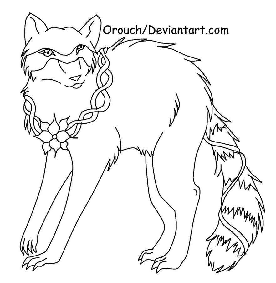 Line Drawing Raccoon : Free raccoon line art by jinkitsuka on deviantart