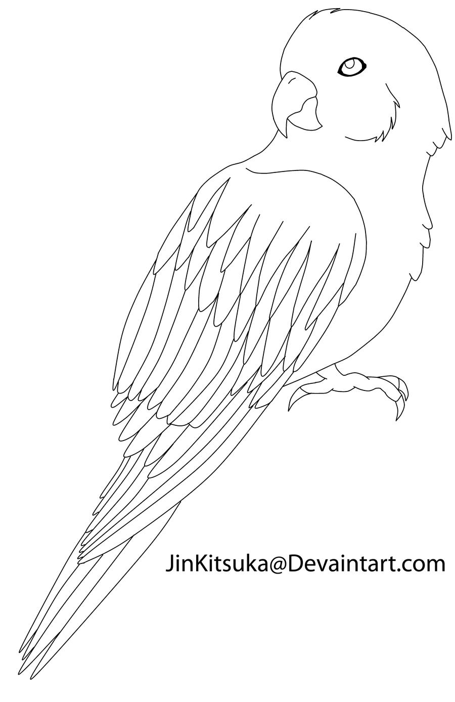 Quail Line Art : Free bird line art by jinkitsuka on deviantart