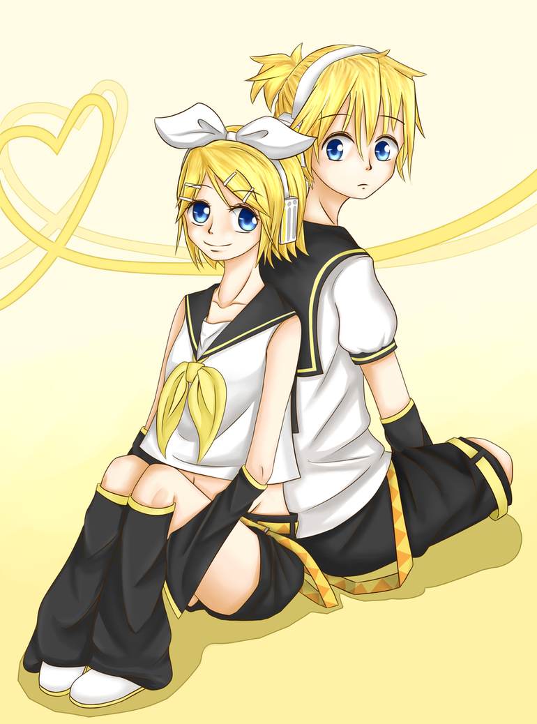 Rin and Len by kure-pu