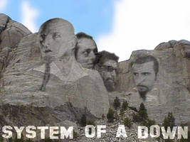 SYSTEM OF A DOWN by backfall