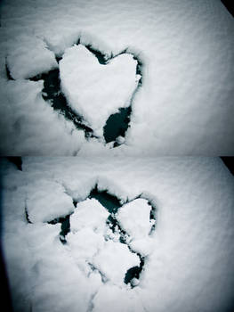 a heart of snow