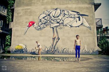 . Murals and gravity .