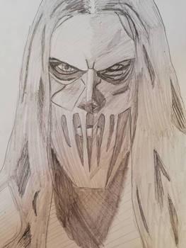 Mick Thomson from Slipknot