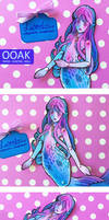 Lorelai - OOAK Paper Jointed Doll