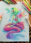 Prismacolor Mermaid