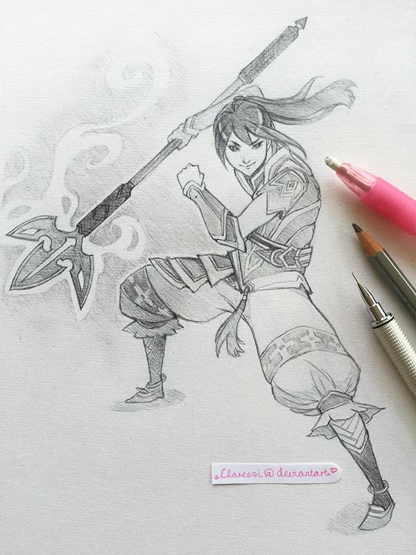 Samurai - 20.01.17 by Clareesi