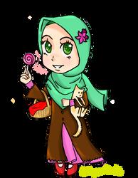 Chibi Hijabi by MianaHeART