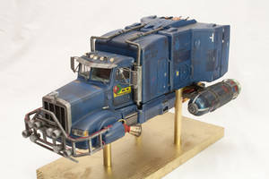 Blue Space Truck
