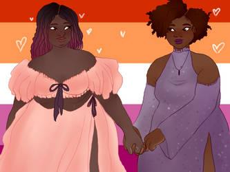 Lesbians - July