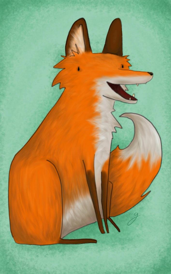 Foxie by Giesji