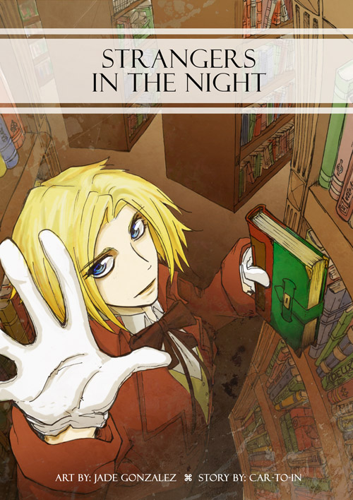 Cover - Vampire comic by JadeGL