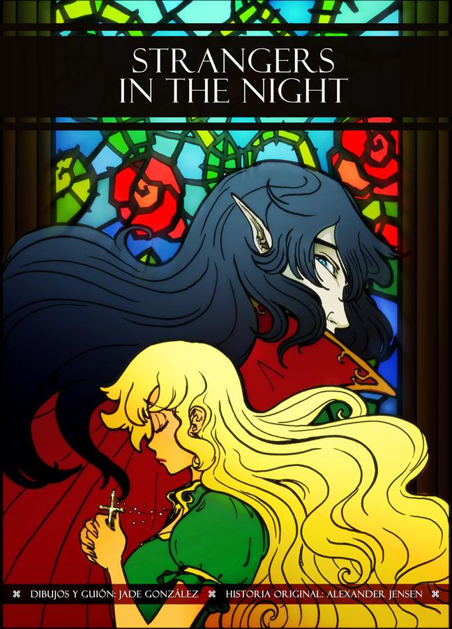Cover Interludio Vampire Comic by JadeGL