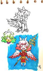 Little angel by JadeGL
