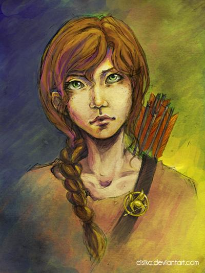 Katniss Everdeen by Cisiko
