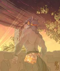 Sunset (Joshua) by Decisive-Desire