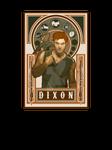 Daryl Dixon -  Art Nouveau