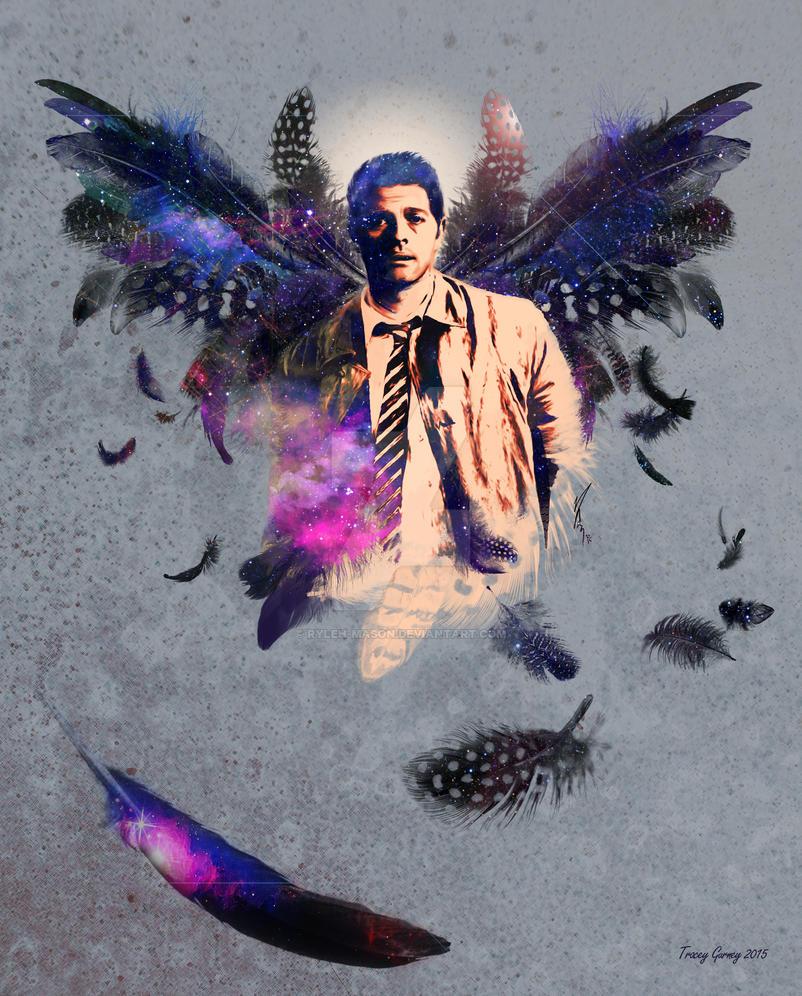 Castiel Angel Heart by Ryleh-Mason
