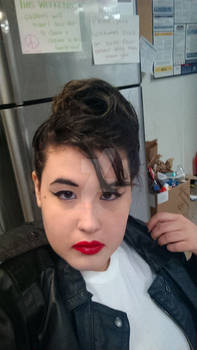 Greaser Makeup and Hair